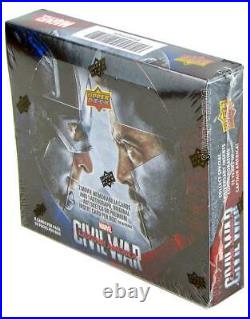 Marvel Captain America CIVIL War Trading Cards Box (upper Deck 2016)