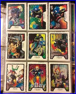 Marvel Comic Cards Sets Ten Full Sets (Marvel Heroes, X-Men And More)
