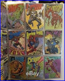 Marvel Comics 1994 Pepsi Cards Complete 100 Base + 9 Prism + 4 Holograms