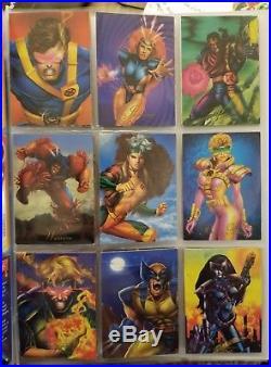 Marvel Comics 1994 Pepsi Cards Complete 100 Base + 9 Prism + 4 Holograms + Album