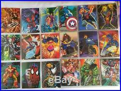 Marvel Comics 1994 Pepsi Cards Complete 100 Base + 9 Prism + 4 Holograms Rare
