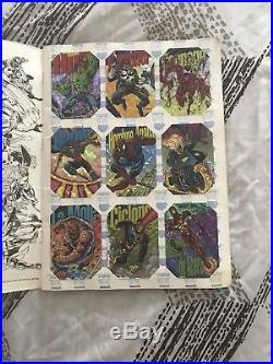 Marvel Comics 1994 Pepsi Cards Complete With Rare Album