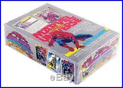 Marvel Comics Universe Series 2 Trading Card Box Impel Skybox 1991 New