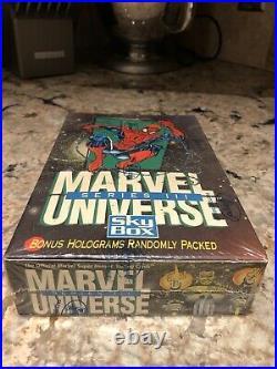 Marvel Comics Universe Series 3 Trading Card Box Skybox 1992 New Amricons SEALED