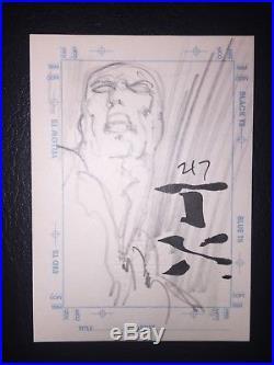 Marvel Creators Collection 1998 Sketchagraph / Sketch Card Silver Surfer NM