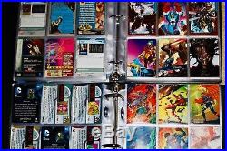 Marvel & DC Trading Cards 1991 1998 Set 800+ Cards Flair Fleer Master LOT