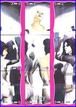 Marvel Dangerous Divas 2 Complete Ruby 90 card Parallel set numbered # /50