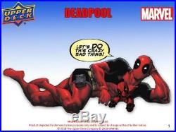 Marvel Deadpool Trading Cards Hobby 12-box Case (upper Deck 2018)
