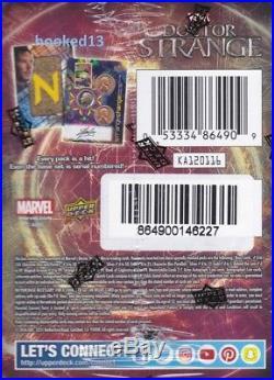 Marvel Doctor Strange Trading Cards Box Upper Deck 2016