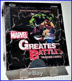 Marvel Greatest Battles Factory Sealed Box (24 Packs)