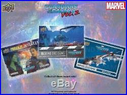 Marvel Guardians Of The Galaxy Vol. 2 Trading Cards Hobby Box (upper Deck 2017)