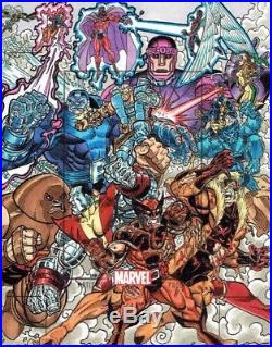 Marvel Heroes & Villains Artist Proof sketch card by Lak Lim