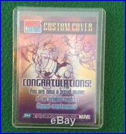 Marvel Legends 2001 Custom FANTASTIC FOUR SKETCH Card