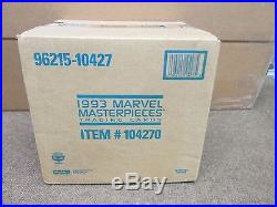 Marvel Masterpieces 1993 Sealed Case Of 20 Boxes Trading Cards 36 Pks Per Box