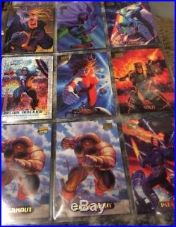 Marvel Masterpieces 1994 edition 36 Count Box Set/31pack & Signature Series Set