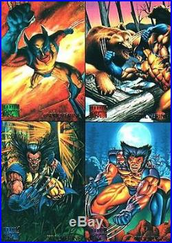 Marvel Masterpieces 1995 Set Of 151 Cards
