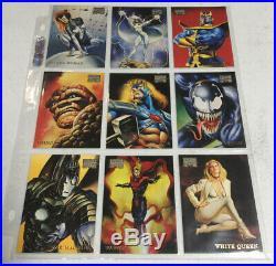 Marvel Masterpieces 1996 Complete Mint 1-100 Card Set Boris Vallejo Fleer