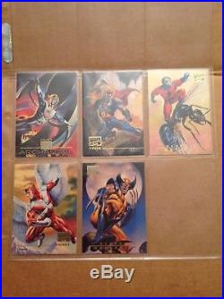 Marvel Masterpieces 1996 Lot Of 66 Base Card Singles From Skybox