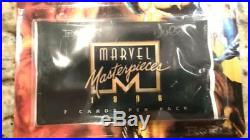 Marvel Masterpieces 1996 Lot of 12 Sealed Mint Condition Unpunched Blister Packs