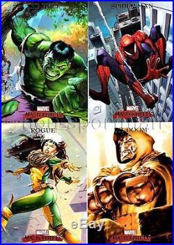 Marvel Masterpieces 2007 1 Ultimate Mini-master Set