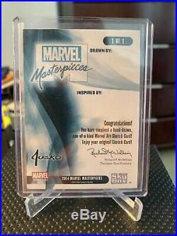 Marvel Masterpieces 2016 Blank AP Sketch Card Jusko