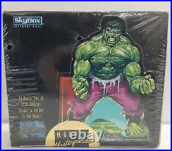 Marvel Masterpieces Factory Sealed Box Skybox Trading Cards 1992