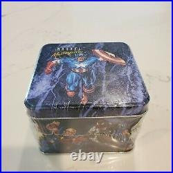 Marvel Masterpieces Factory Sealed Tin Trading Card Set 33630/35000 Qty