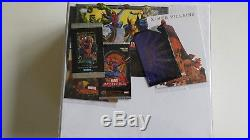 Marvel Masterpieces Master sets 92-08 with inserts 70 of 100 on the 1996