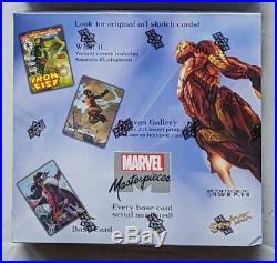 Marvel Masterpieces Sealed Upper Deck Skybox Hobby Box Sealed Simone Bianchi! T