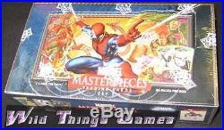 Marvel Masterpieces Series 3 Upper Deck 2008 HOBBY BOX