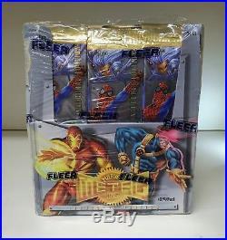 Marvel Metal Inaugural Edition Jumbo Box Sealed Trading Card Box Fleer 1995