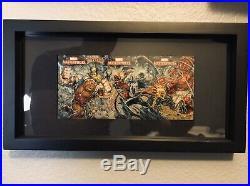 Marvel NAR! Sketch Puzzle 2007 Masterpieces 1/1 Venom, Jug Deadpool EPIC