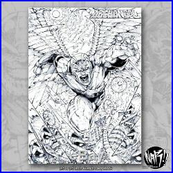 Marvel PSC Nar Nar! Sketch Card Archangel With Package