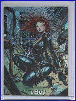 Marvel PSC SKETCH Melike Acar/Black Widow 1/1