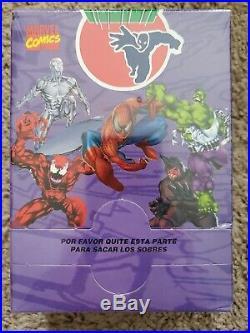 Marvel Pepsi Cards Box Factory Sealed Rare! Spiderman Carnage Hulk Silver Surfer