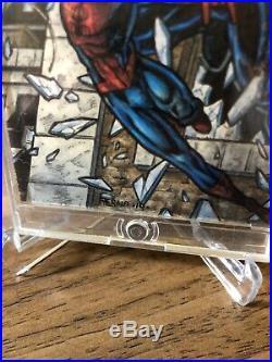 Marvel Premier 2012 Spider-Man Vs Venom Sketch Card AP Tony Perna