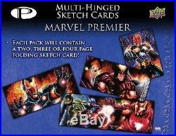 Marvel Premier Trading Cards Box (Upper Deck 2012)