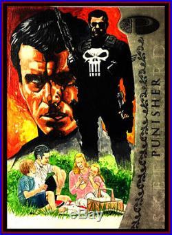 Marvel Premier-punisher Sketch Card