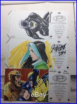 Marvel Premiere Sketch Card Lot