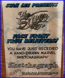 Marvel Sketch Silver Age Hulk Marie Severin Sketchagraph