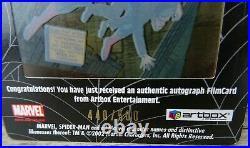 Marvel Spider-Man 2002 Stan Lee Signed Film Trading Card 440 / 500 RARE