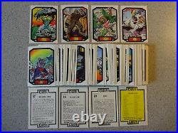 Marvel Universe 1987 COLOSSAL CONFLICTS Series 2 II Trading Card Set