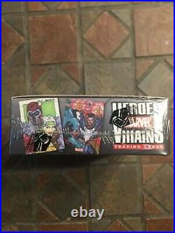 Marvel Universe 2010 HEROES & VILLAINS Factory Sealed Trading Card Hobby box