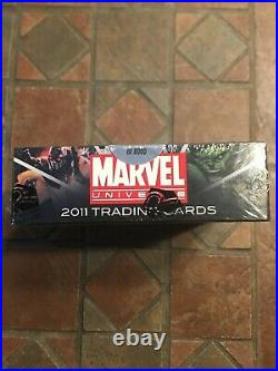 Marvel Universe 2011 Factory Sealed Trading Card Hobby box Sketch Card