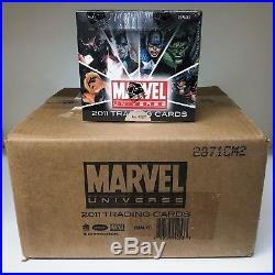 Marvel Universe 2011 Sealed CASE of 12 Trading Card Hobby Boxes Rittenhouse