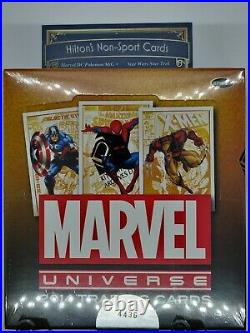 Marvel Universe 2014 Factory Sealed Trading Card Hobby box Sketch Card