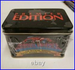 Marvel Universe Premier Edition Trading Card Tin Set 3418/4000 Factory Sealed