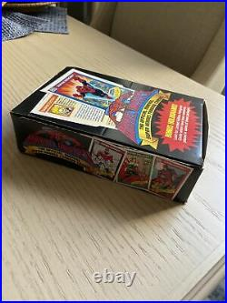 Marvel Universe Series 1 (1990) Trading Cards Booster Box (36 packs) Brand New
