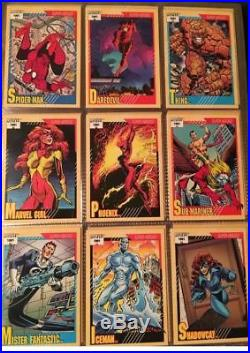 Marvel Universe Series 1,2,3,4 Complete Sets 1990, 1991, 1992, 1993 Wow