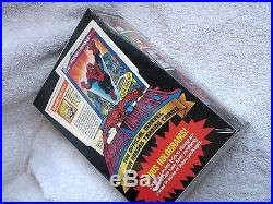 Marvel Universe Series 1 I 1990 Factory Sealed Box